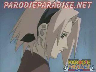 Naruto xxx 1 - Sakura Fucks Sasuke Goodbye
