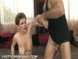 pussy licking, matures, natural tits