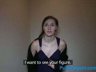 Publicagent ceking brunette pounded by a big ceko jago - porno video 741