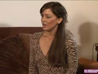 College Brunette Mia Presley And Milf Nina Hartley