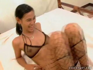 fishnet, biancheria intima, asian sex movies