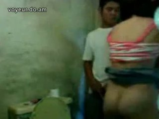 Couple Spied In Toilet