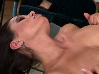 Busty Aria Giovanni Strips And Shows Her Marangos