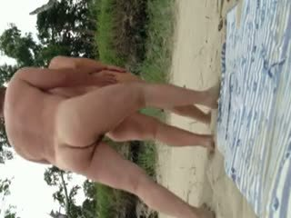 voyeur, beach, mature