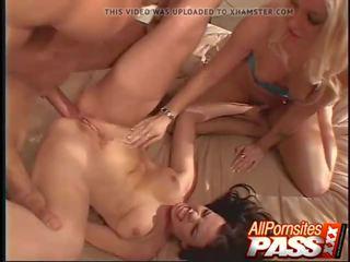 Kolmekesi ends koos räpane cumshots, tasuta porno 3d