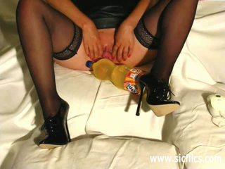 Brutally fist fucked amateur slut