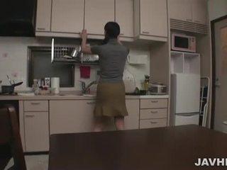 Japansk par ved hjem