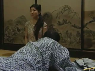 Sleaze Oriental Lass Has Made Love By Her Husband In Missionary Position