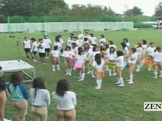 Subtitled bottomless von japonsko schoolgirls assembly