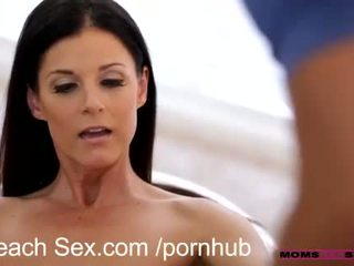 brunette, sport, fitness, cum swap, old and young, small tits