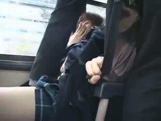 Shocked Teengirl Groped In Bus