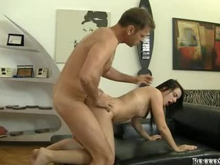 Rocco Siffredi Give A Hard Anal To A Horny Hottie