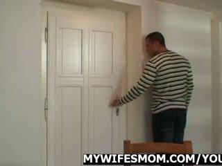 Žena pissed off vzrok i samo zajebal ji mama