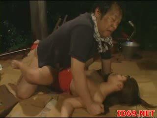 Jap av miúda gets pulled fora para sexo