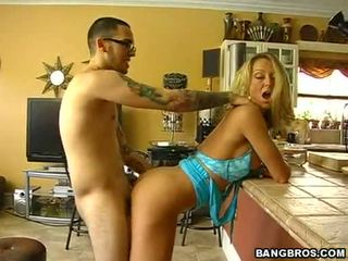 Hawt mom aku wis dhemen jancok brenda james bows herself fine and sexy and gets banged from behind
