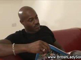 brytyjski nowy, najlepsze wytryski zobaczyć, interracial