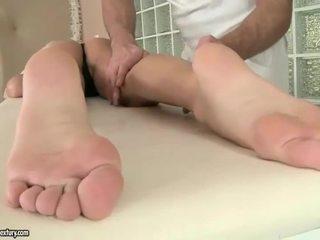 voet fetish, massage, pornstar