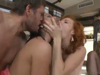 hardcore sex, oral seks, penetrasi ganda