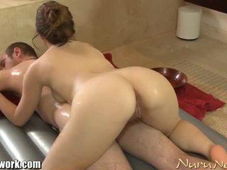 Brandon nash gets nuru masazh nga angelina mylee