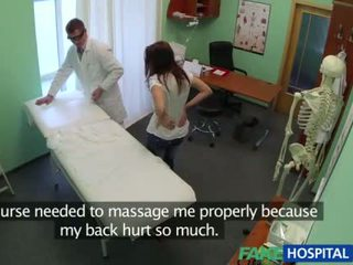 Sexy patient gets fucked by the doctor