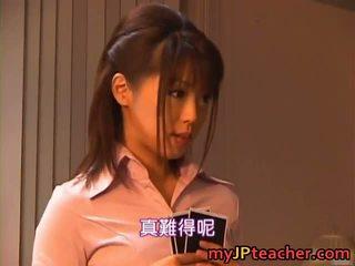 Bunko kanazawa прекрасен японки учител