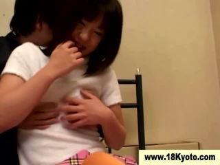 ญี่ปุ่น สกปรก วัยรุ่น เด็กนักเรียนหญิง วีดีโอ