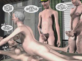 漫画, 3d cartoon sex movies, 3d porn animation