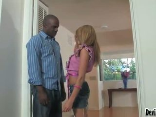Aiden Aspen And Lee Bonk Have Some Funtime In The Hall