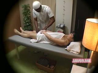 japanisch, massage, versteckte cams