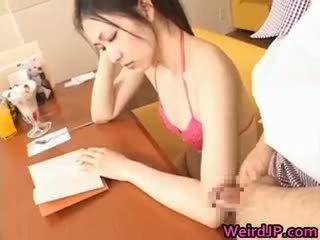 Asian Schoolgirl Teen Babe Gets Facial Part3