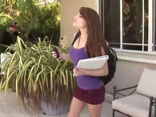 Vert hot and horny schoolgirl Tiffany Haze