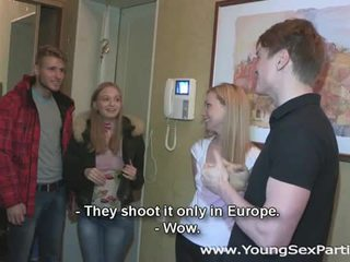 young, fun group fuck, great group sex real