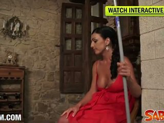 Spanish mom carla pons in hot pov style