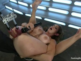 brunette, hardcore sex, nice ass, toys