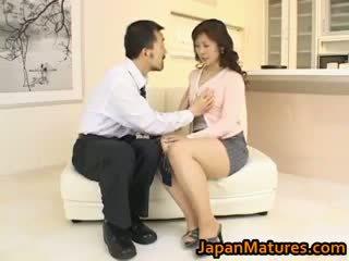 japoński, seks grupowy, wielkie cycki, amator