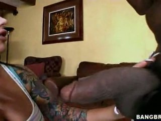 Fleshly Whore Mason Moore Eagerly Slurps Her Man's Dark Pole Deep In Her Mouth