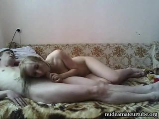 Gorgeous Russian Amateur Teen Couple Like Hard Homemade Fuck
