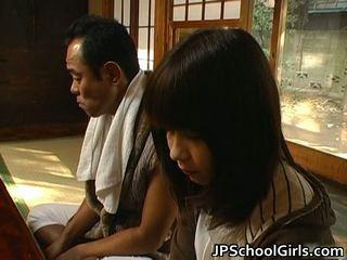 Haru sakuragi asiatique écolière has sexe
