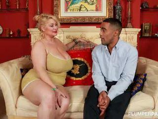 kontrollima lihav suur, bbc kvaliteet, ideaalne interracial kuum