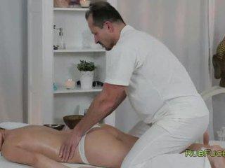 online brunette most, fucking, rated masseur full