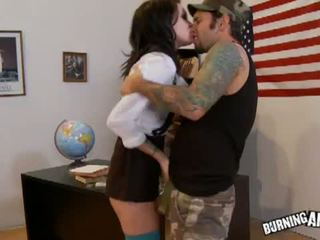 Joanna Angel: Joanna Angel rammed hard at office