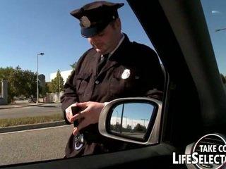 Hot police woman nailed hard