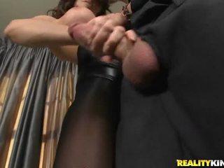 brunette porno, white scene, quality hardcore sex