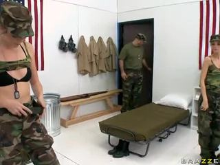 Military Beaver Munchers Jana Jordan And Jessie Andrews In Lesbian Xxx Vid