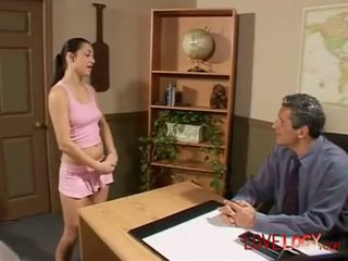 Sweet Alicia Angel anal with the principal, Vaginal Sex Masturbation Oral Sex Anal Sex Teen Brunette