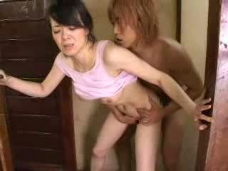 japán, háziasszony