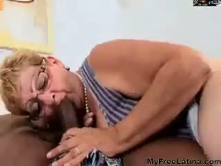 brazilian, granny, blowjob, anal