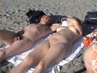 समुद्र तट, विंटेज, क्लासिक, निर्वस्त्र
