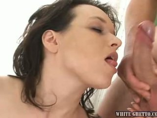 Amazingly Impressive Milf Has Her Brown Eye Made Love And Cream Pie