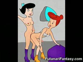 cartoon, compilation, futanari